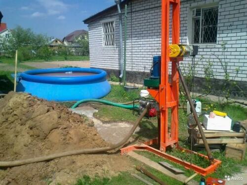 Бурение скважин Чистая вода