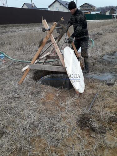 Чистая Вода - копка, рытье колодцев в районах 003