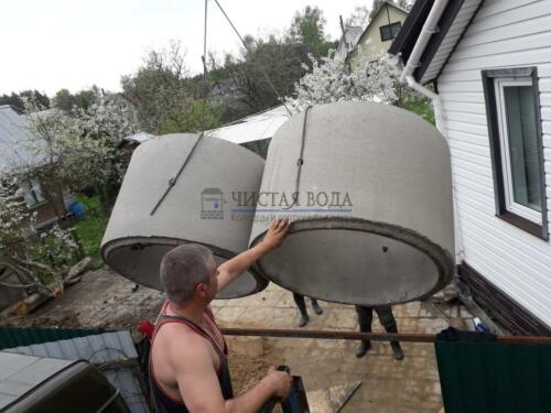 Чистая Вода -углубление, ремонт колодцев в районах 006