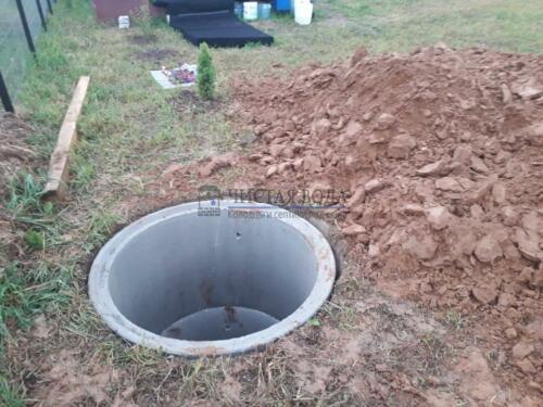 Чистая Вода - чистка колодцев в районах 003