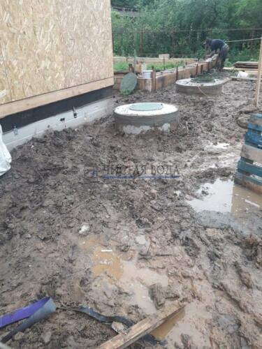 Чистая Вода - чистка колодцев в районах 004