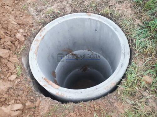 Чистая Вода - чистка колодцев в районах 007