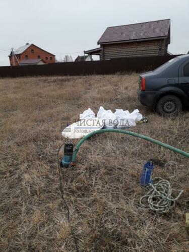Чистая Вода - чистка колодцев в районах 009
